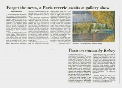 Madelyn Jordon Fine Art Exhibit Review in the Scarsdale Inquirer