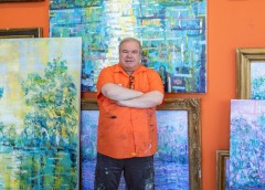 Madelyn Jordon Fine Art PRESS: Hunt Slonem featured in Bayou Brief magazine