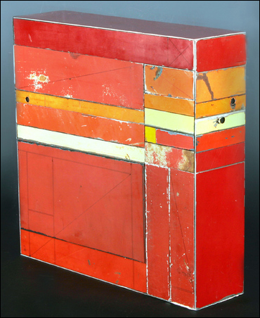 Madelyn Jordon Fine Art TED LARSEN: URBAN RENEWAL Metal Assemblage