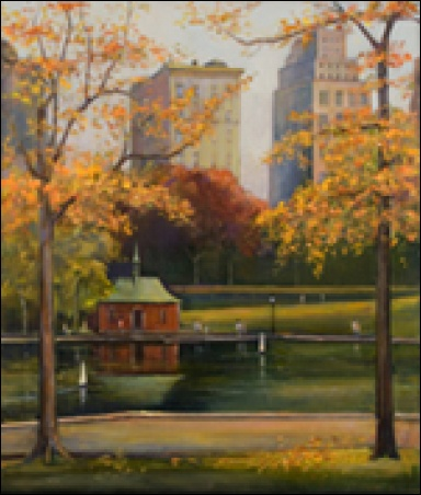 "Madelyn Jordon Fine Art Lawrence Kelsey - ""New York Idyll: Scenes of Central Park"""