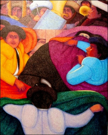 Madelyn Jordon Fine Art Ernesto Gutierrez: In the Valley of the Incas