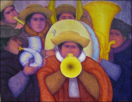 Madelyn Jordon Fine Art Ernesto Gutierrez: In the Valley of the Incas 2