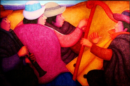 Madelyn Jordon Fine Art Ernesto Gutierrez: In the Valley of the Incas 4