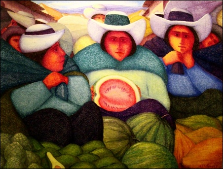 Madelyn Jordon Fine Art Ernesto Gutierrez: In the Valley of the Incas 5