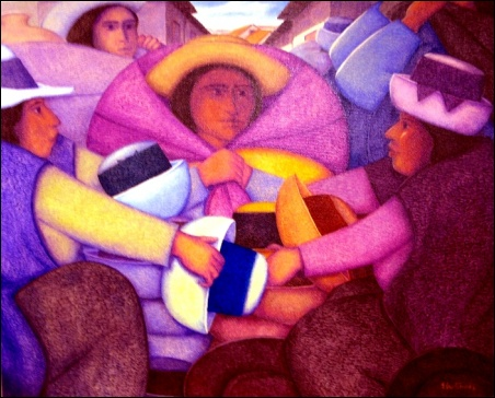 Madelyn Jordon Fine Art Ernesto Gutierrez: In the Valley of the Incas 6