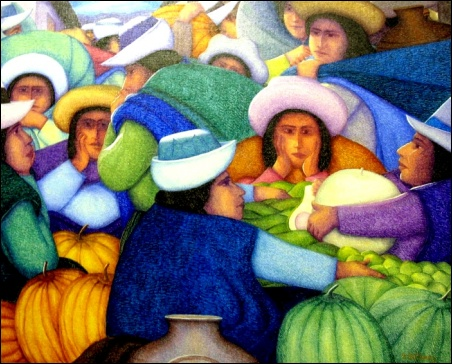 Madelyn Jordon Fine Art Ernesto Gutierrez: In the Valley of the Incas 8