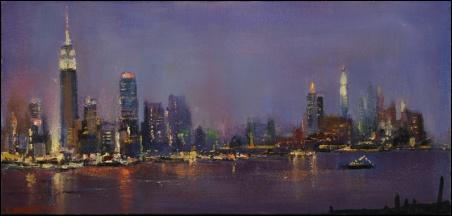 Madelyn Jordon Fine Art Lawrence Kelsey: New York, Dawn to Dusk  10