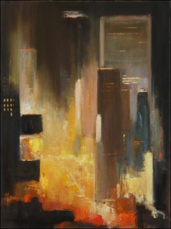 Madelyn Jordon Fine Art Lawrence Kelsey: New York, Dawn to Dusk  11