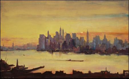 Madelyn Jordon Fine Art Lawrence Kelsey: New York, Dawn to Dusk  12