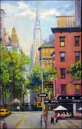 Madelyn Jordon Fine Art Lawrence Kelsey: New York, Dawn to Dusk  15
