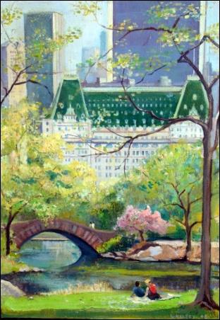 Madelyn Jordon Fine Art Lawrence Kelsey: New York, Dawn to Dusk  17