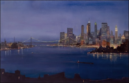 Madelyn Jordon Fine Art Lawrence Kelsey: New York, Dawn to Dusk  18