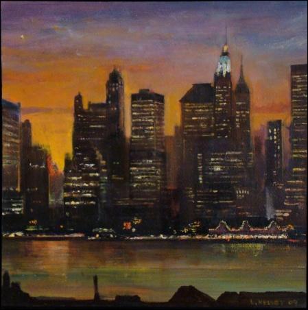 Madelyn Jordon Fine Art Lawrence Kelsey: New York, Dawn to Dusk  20