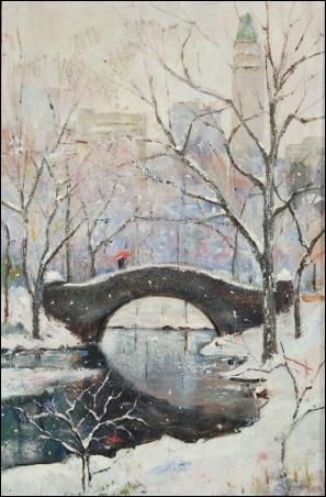 Madelyn Jordon Fine Art Lawrence Kelsey: New York, Dawn to Dusk  3