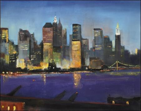 Madelyn Jordon Fine Art Lawrence Kelsey: New York, Dawn to Dusk  5
