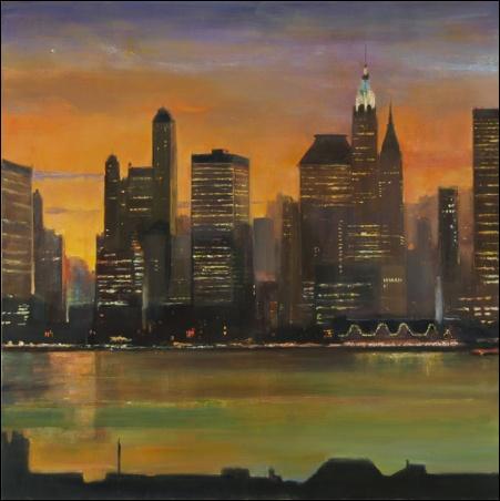 Madelyn Jordon Fine Art Lawrence Kelsey: New York, Dawn to Dusk  6