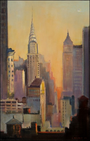 Madelyn Jordon Fine Art Lawrence Kelsey: New York, Dawn to Dusk  7