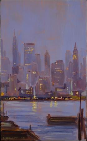 Madelyn Jordon Fine Art Lawrence Kelsey: New York, Dawn to Dusk  9