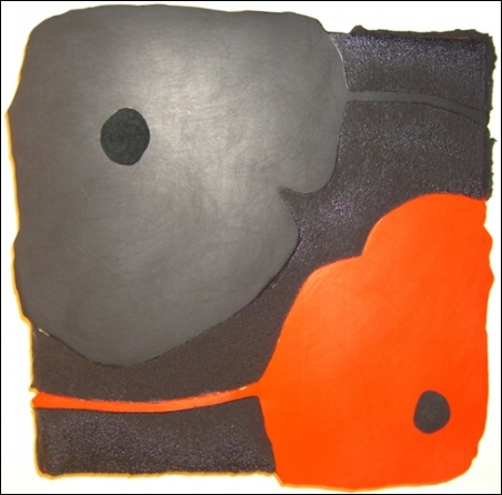 Madelyn Jordon Fine Art Bejeweled, Bewitched, Bedazzled Donald Sultan: Black and Red Poppy