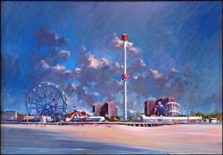 Madelyn Jordon Fine Art By The Sea Derek Buckner; Coney Island