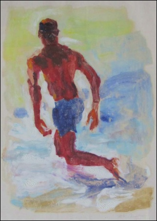 Madelyn Jordon Fine Art SURF & TURF McWillie Chambers, Eric Swimming