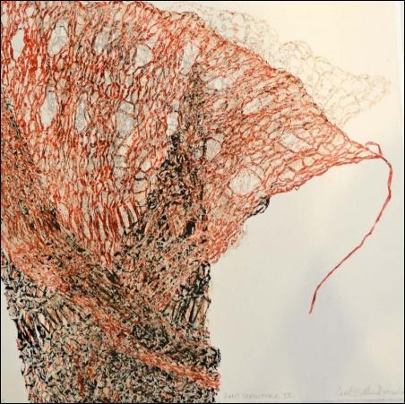 Madelyn Jordon Fine Art SURF & TURF Carol E.S. MacDonald, Knit Structure IX