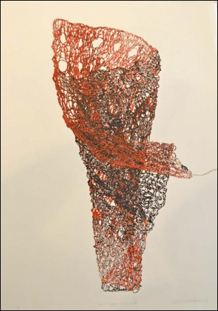 Madelyn Jordon Fine Art SURF & TURF Carol E.S. MacDonald, Knit Structure V