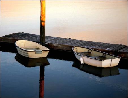 Madelyn Jordon Fine Art SURF & TURF Eugene Healy, Untitled (Row Boats)