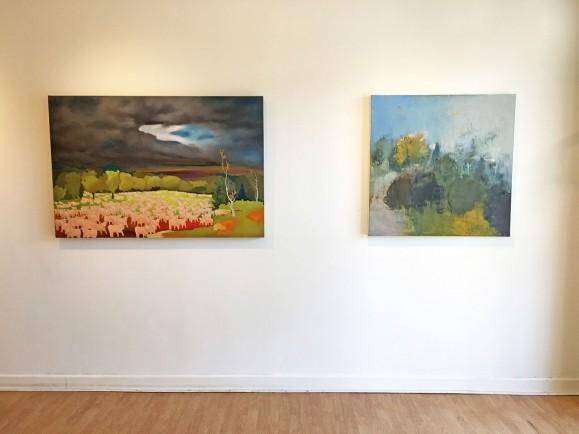 Madelyn Jordon Fine Art STAGING NATURE: A WORLD UNTO ITSELF Install 9