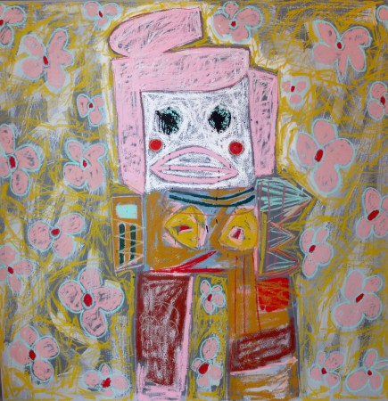Madelyn Jordon Fine Art 2016, in with a POP!  ADAM HANDLER Flowers in your Hair