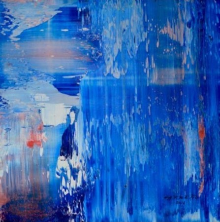Madelyn Jordon Fine Art ANTONIO CARREÑO: INSTINCT Blue Sequence