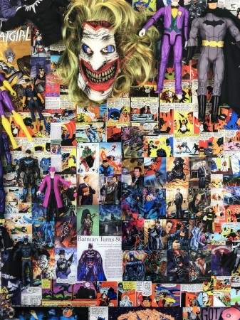 Madelyn Jordon Fine Art DJ LEON: SUPERMAN, BATMAN, AND THE AMERICAN WAY