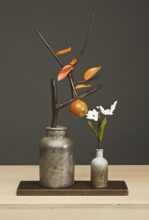 Madelyn Jordon Fine Art In the Country, By the Sea-- Parts I and II David Kimball Anderson, Pewter Jar and Paperwhites