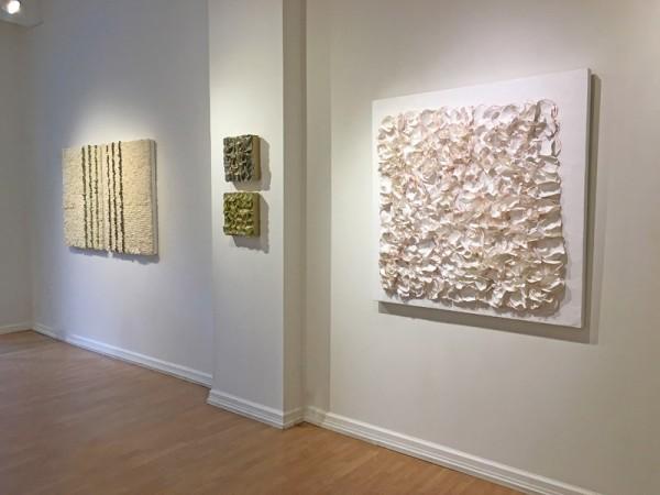 Madelyn Jordon Fine Art BARBARA HIRSCH: ALL AFLUTTER Install 2