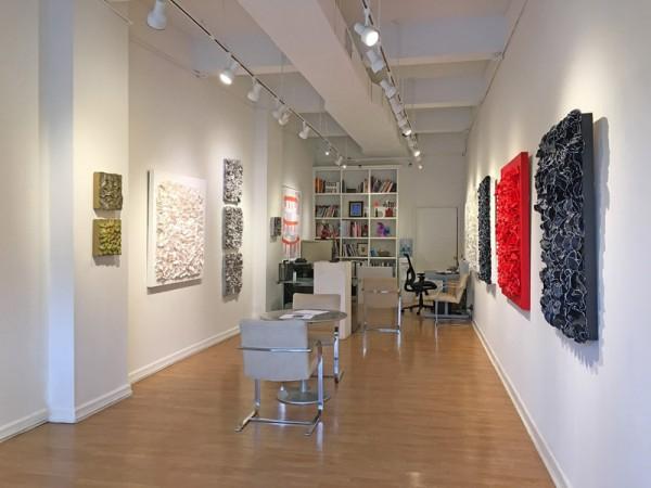 Madelyn Jordon Fine Art BARBARA HIRSCH: ALL AFLUTTER Install 11