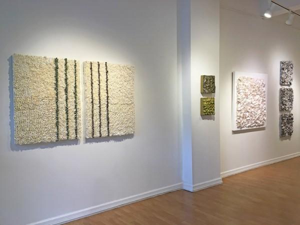 Madelyn Jordon Fine Art BARBARA HIRSCH: ALL AFLUTTER Install 3