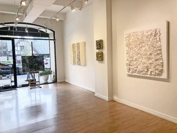 Madelyn Jordon Fine Art BARBARA HIRSCH: ALL AFLUTTER Install 1