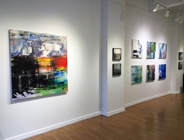 Madelyn Jordon Fine Art ANTONIO CARREÑO: INSTINCT Install 1