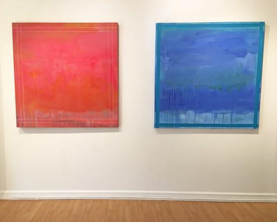 Madelyn Jordon Fine Art LINDA TOUBY: JE T'AIME Install 3