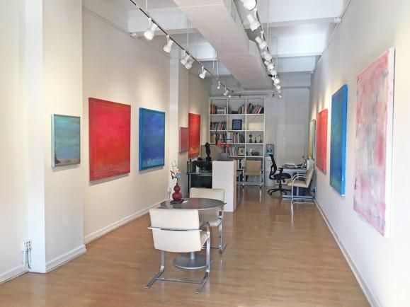 Madelyn Jordon Fine Art LINDA TOUBY: JE T'AIME Install 12