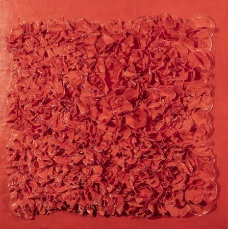 Madelyn Jordon Fine Art BARBARA HIRSCH: ALL AFLUTTER Crimson Time