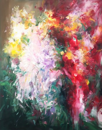 Madelyn Jordon Fine Art STAGING NATURE: A WORLD UNTO ITSELF Flowering Plants