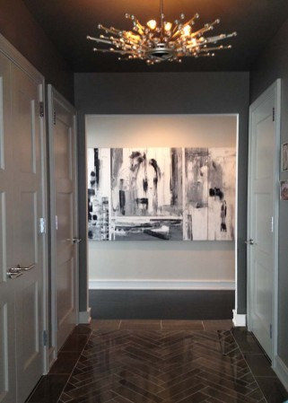 Madelyn Jordon Fine Art Artwork by Antonio Carreno at the Ritz Carlton Penthouse in White Plains, NY