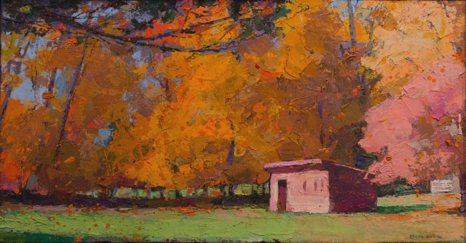 Madelyn Jordon Fine Art In the Country, By the Sea-- Parts I and II Larry Horowitz, Fall Color