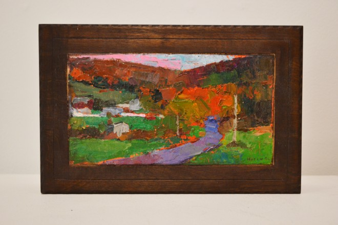 Madelyn Jordon Fine Art In the Country, By the Sea-- Parts I and II Larry Horowitz, Fall Scenery Box