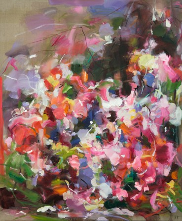 Madelyn Jordon Fine Art YANGYANG PAN :East Meets West in Contemporary Abstraction Fly Low Hummingbird