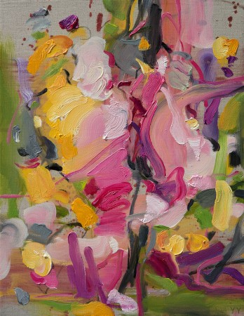 Madelyn Jordon Fine Art YANGYANG PAN :East Meets West in Contemporary Abstraction Growth