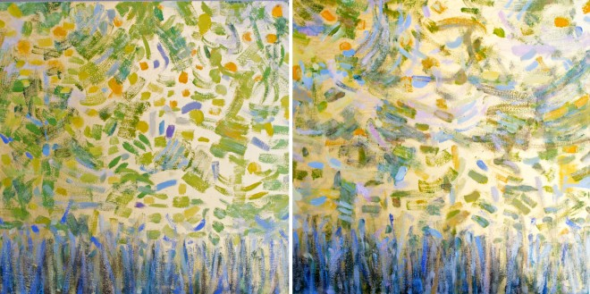 Madelyn Jordon Fine Art Michelle Sakhai: Treasured Elements Growth Part I and II