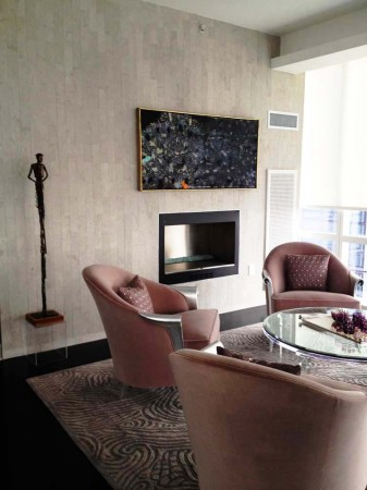 Madelyn Jordon Fine Art Artwork by Stanley Boxer at the Ritz Carlton Penthouse in White Plains, NY