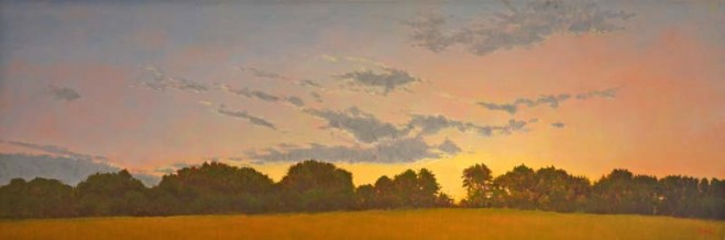 Madelyn Jordon Fine Art In the Country, By the Sea-- Parts I and II Elissa Gore, March Sunset